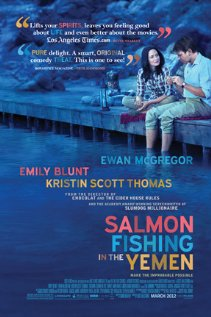 Salmon fishing poster